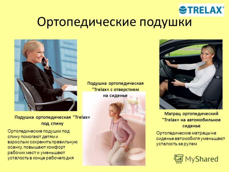 Ортопедические подушки Подушка ортопедическая