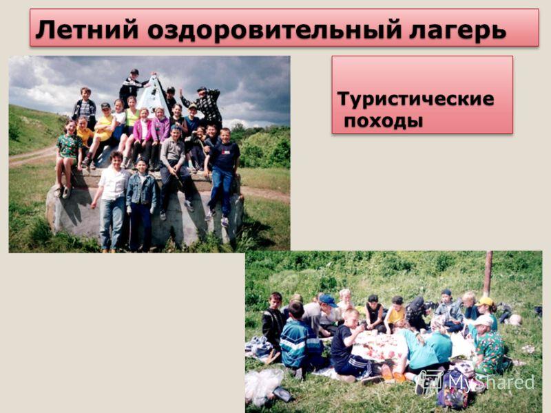 Летний оздоровительный лагерь Туристические походы походыТуристические
