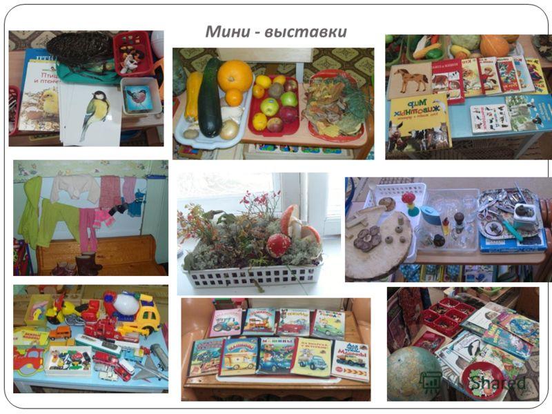 Мини - выставки