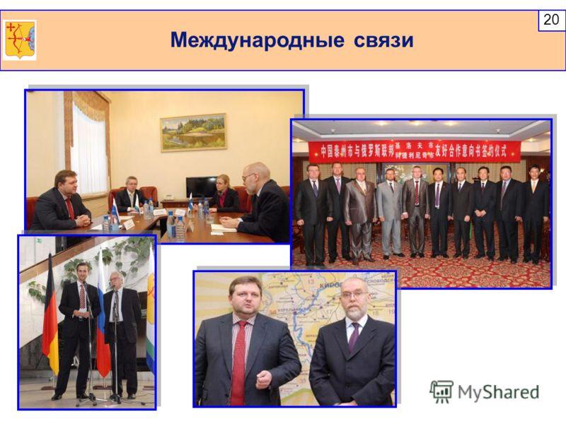 Международные связи 20