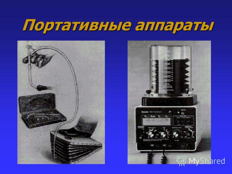 Портативные аппараты