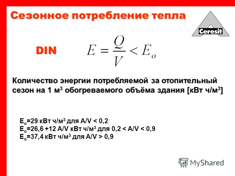 Количество энергии проходящей через слой материала за единицу времени [ккал] Количество тепла - коэффициент теплопроводности материала, [Вт/(м*°С)]; - толщина ограждения, м; F - площадь ограждения, м ; Z - время передачи тепла, ч(с).