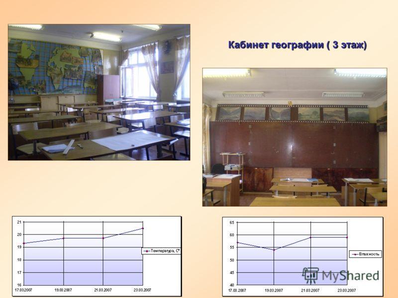 Кабинет географии ( 3 этаж)