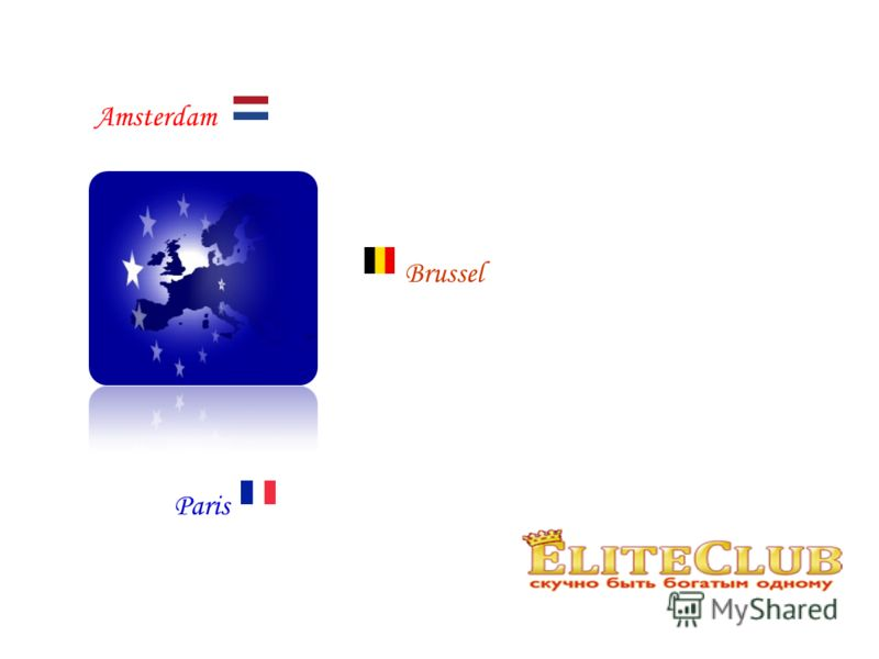Amsterdam Brussel Paris