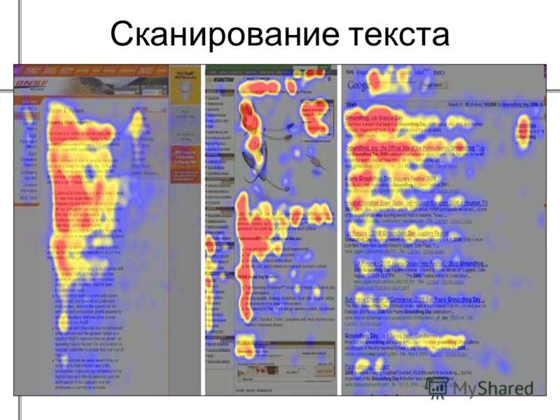 Сканирование текста
