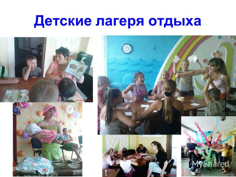Детские лагеря отдыха