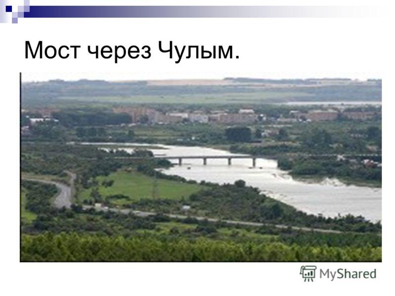 Мост через Чулым.