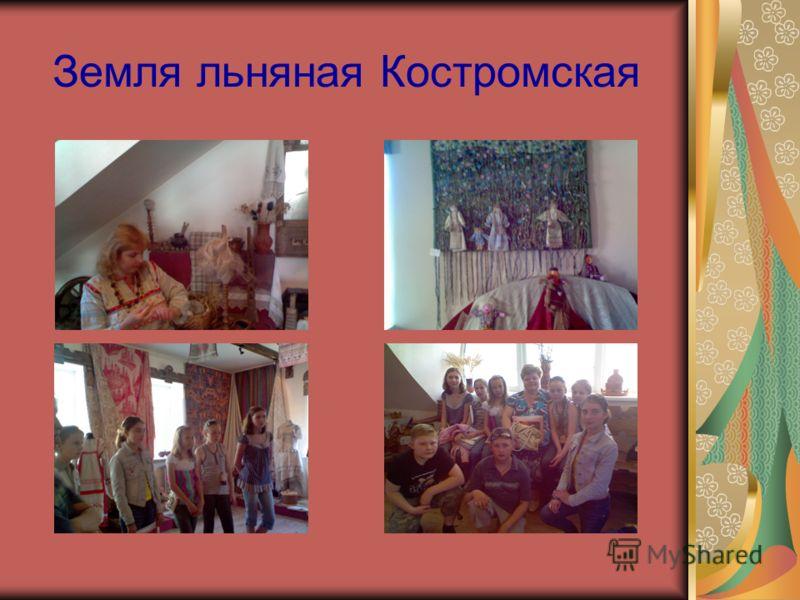 Земля льняная Костромская