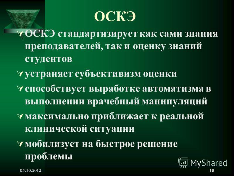 24.08.201217 Метод OSCE Станция