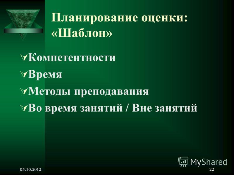 24.08.201221 Методы оценки знаний