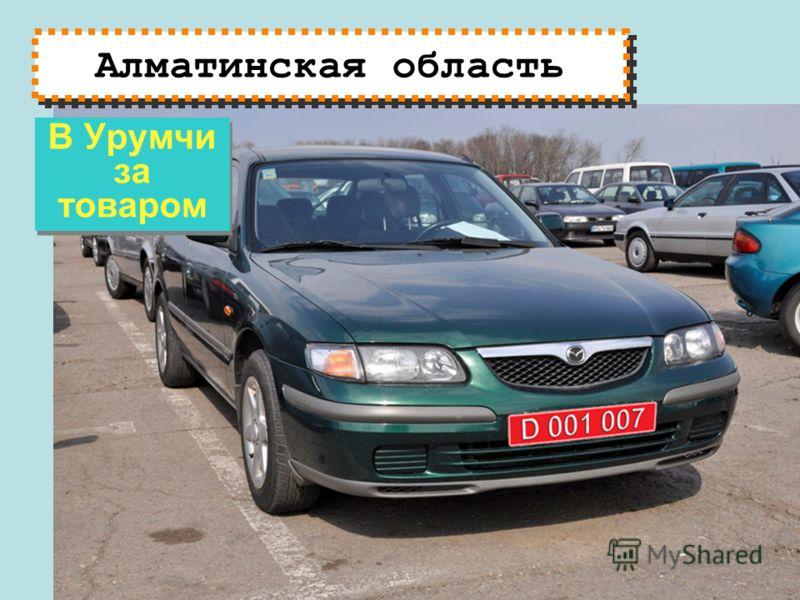 Алматинская область В Урумчи за товаром