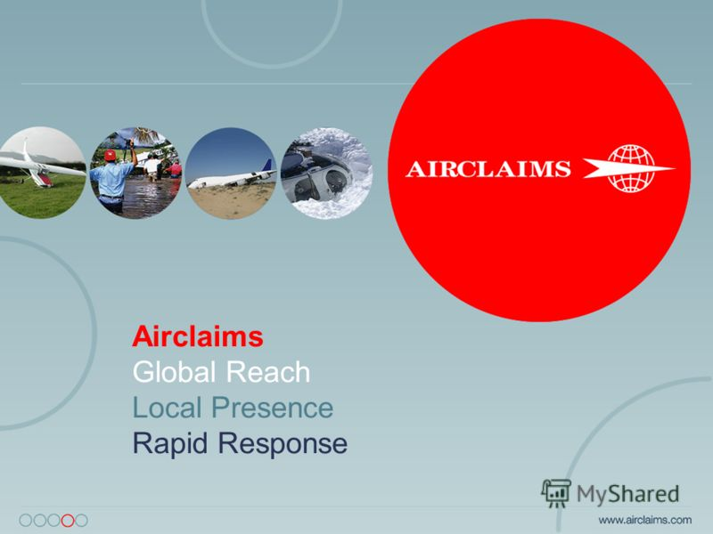 Airclaims Global Reach Local Presence Rapid Response