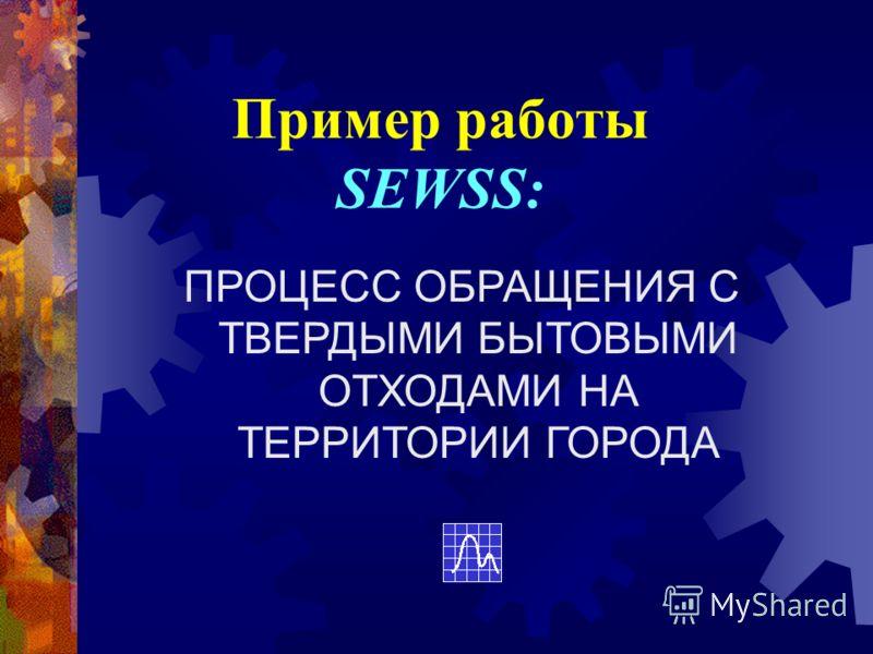 Пример работы SEWSS: ПРОЦЕСС ОБРАЩЕНИЯ С ТВЕРДЫМИ БЫТОВЫМИ ОТХОДАМИ НА ТЕРРИТОРИИ ГОРОДА