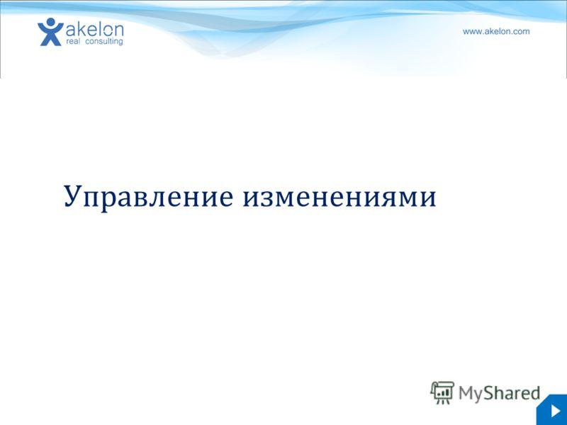 akelon.com Управление изменениями