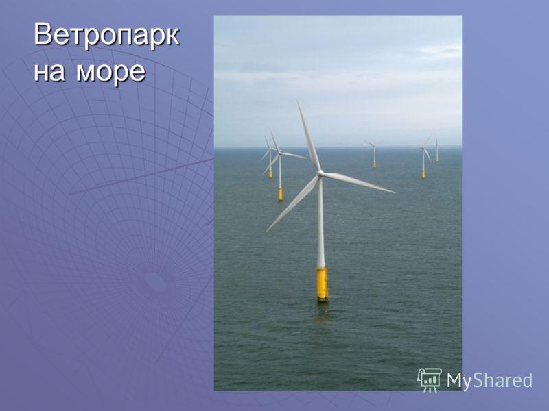 Ветропарк на море
