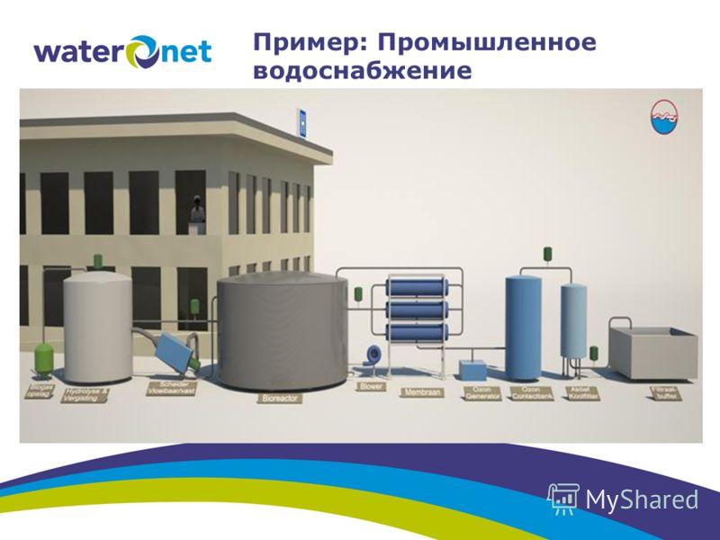 Пример: Промышленное водоснабжение