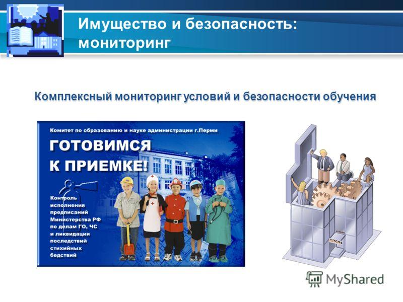 Имущество и безопасность: мониторинг Анализ активности ГПН Комплексный мониторинг условий и безопасности обучения
