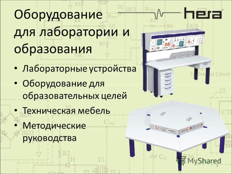 Оборудование для лаборатории и образования Лабораторные устройства Оборудование для образовательных целей Техническая мебель Методические руководства 9