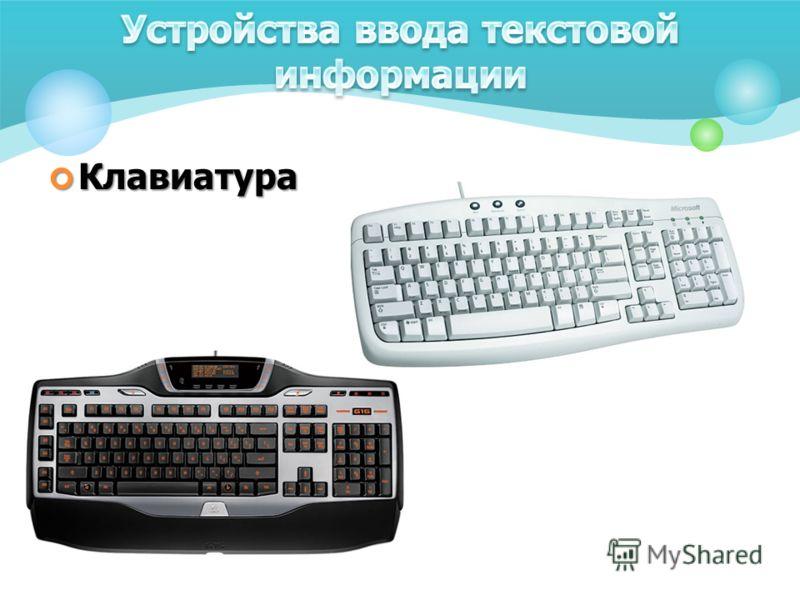 Клавиатура Клавиатура
