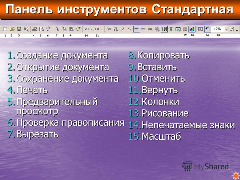 Редактирование документов