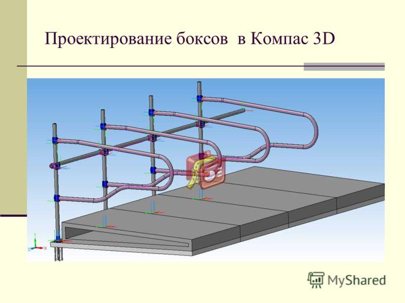 Проектирование боксов в Компас 3D