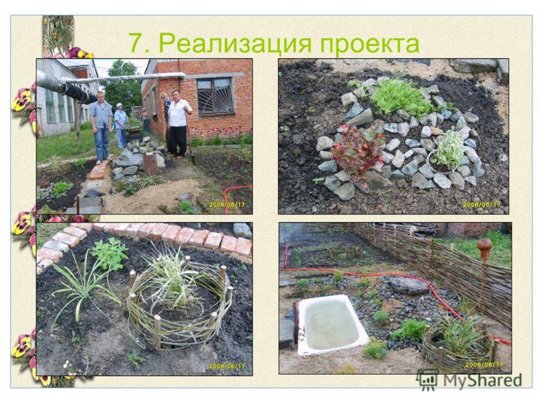 7. Реализация проекта