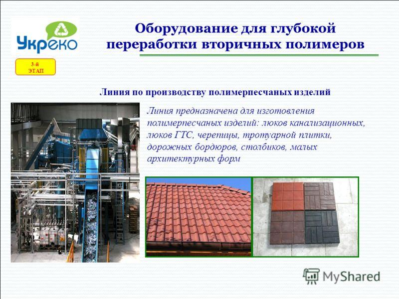 Глубокая переработка полимеров 3-й ЭТАП