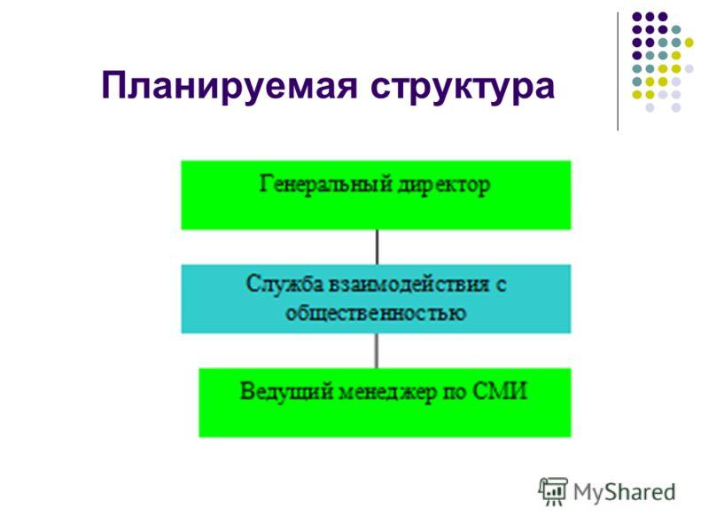 Планируемая структура