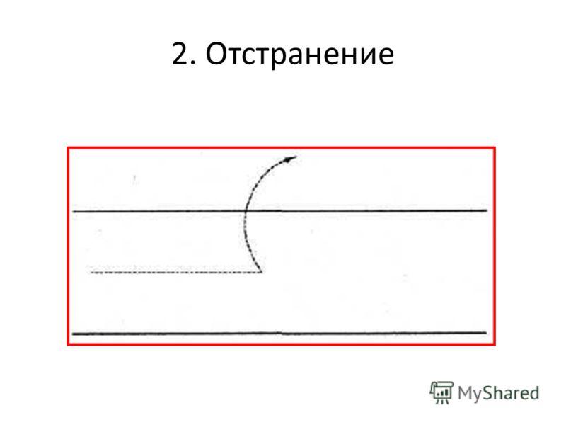 2. Отстранение