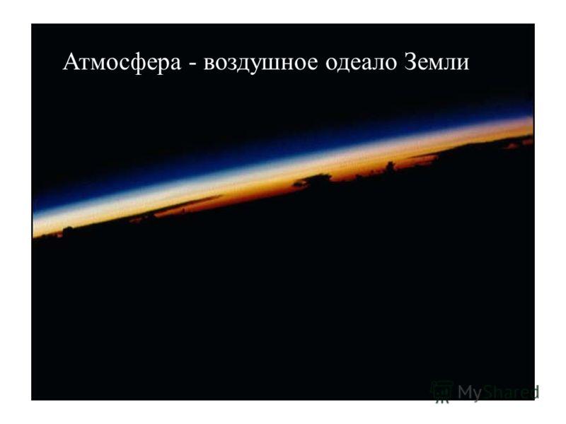 Атмосфера - воздушное одеало Земли