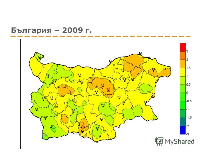 България – 2009 г.