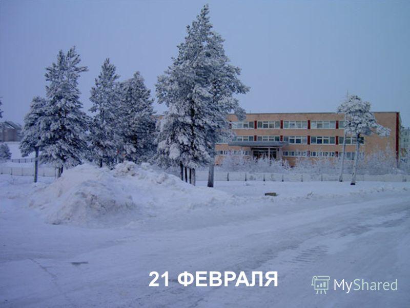21 ФЕВРАЛЯ