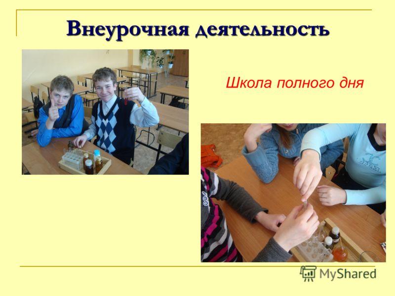 Внеурочная деятельность Школа полного дня
