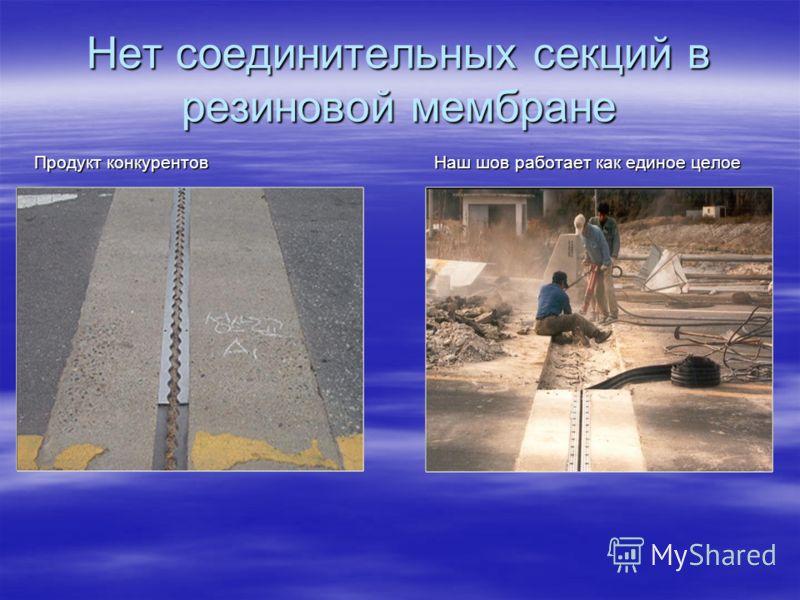 Нет загрязнений и цементной пыли Остатки загрязнений и цементной пыли приводят к паразитным воздействиям на опорную часть пролетного строения