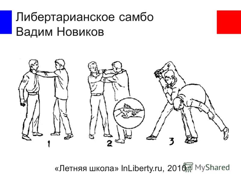 Либертарианское самбо Вадим Новиков «Летняя школа» InLiberty.ru, 2010