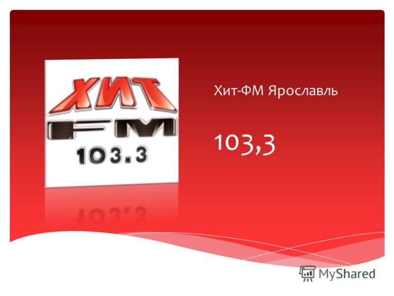 Хит-ФМ Ярославль 103,3