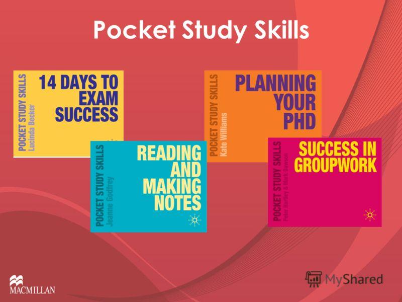 Pocket Study Skills