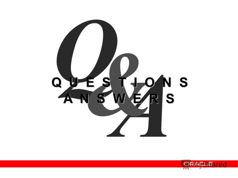 A Q & Q U E S T I O N S A N S W E R S