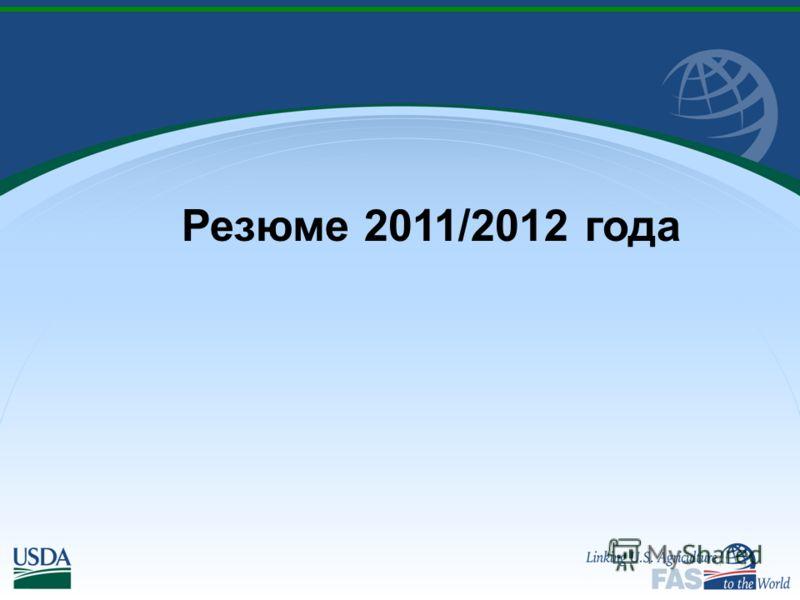 Резюме 2011/2012 года