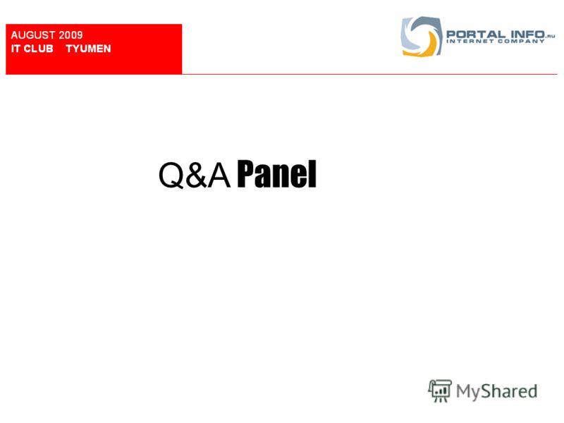 Q&A Panel
