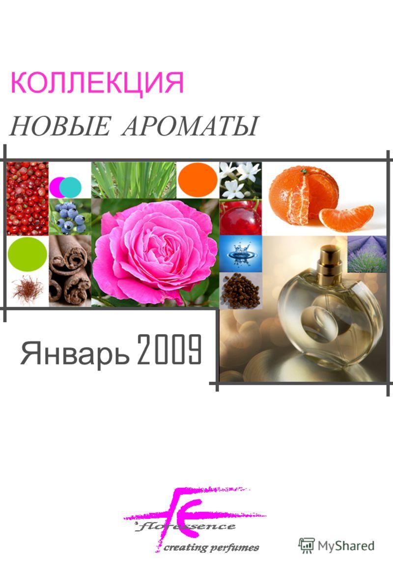 КОЛЛЕКЦИЯ НОВЫЕ АРОМАТЫ Январь 2009