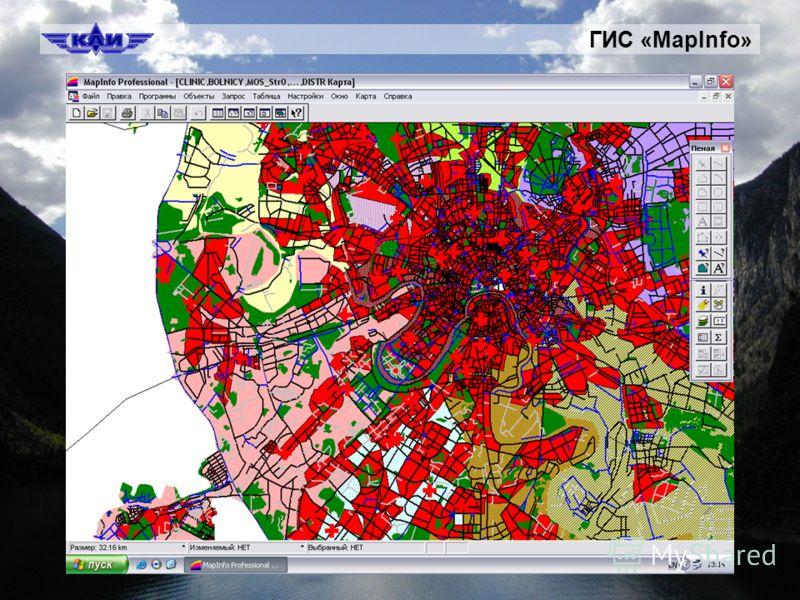 ГИС «MapInfo»