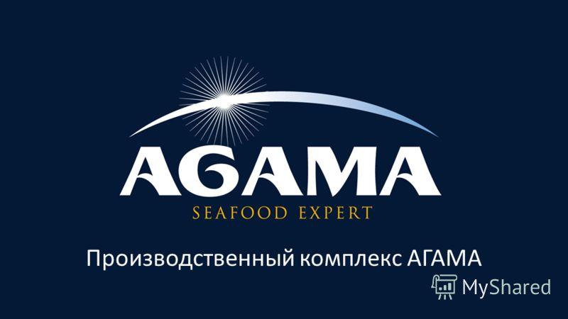 Производственный комплекс АГАМА