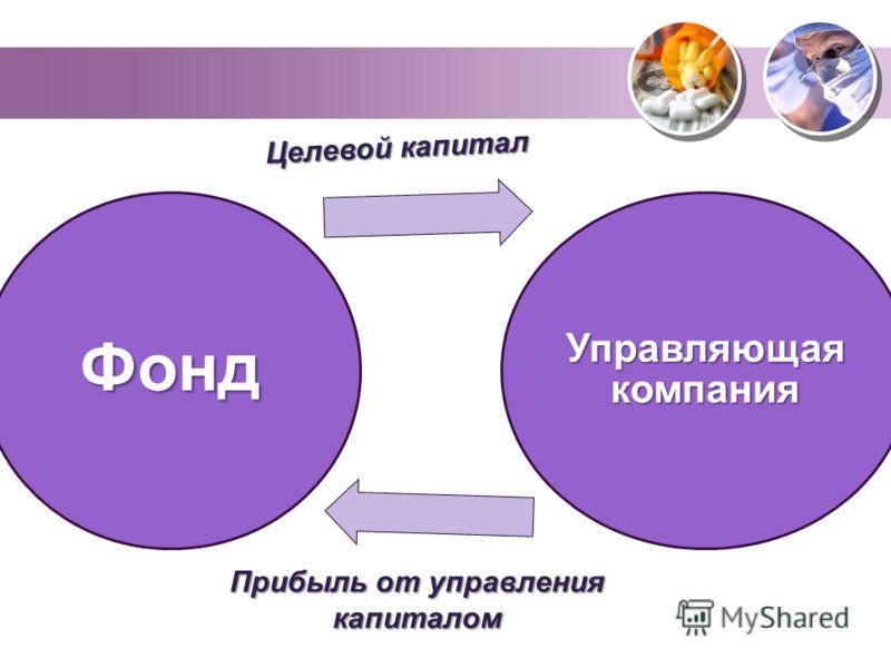 Фонд Управляющая компания Целевой капитал Прибыль от управления капиталом