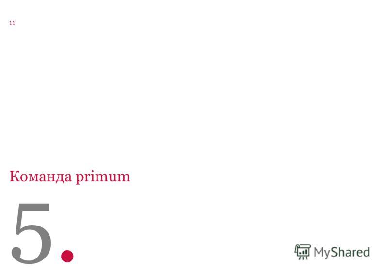 123056, Москва ул. Юлиуса Фучика дом 6, стр. 2 office@primum-mobile.ru www.primum-mobile.ru +7 (495) 545 0198 Агентство корпоративных и финансовых коммуникаций 11 5.5. Команда primum
