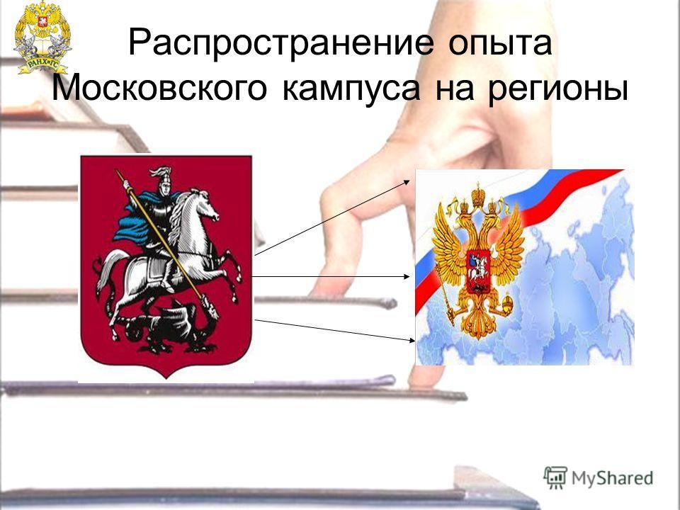 Распространение опыта Московского кампуса на регионы