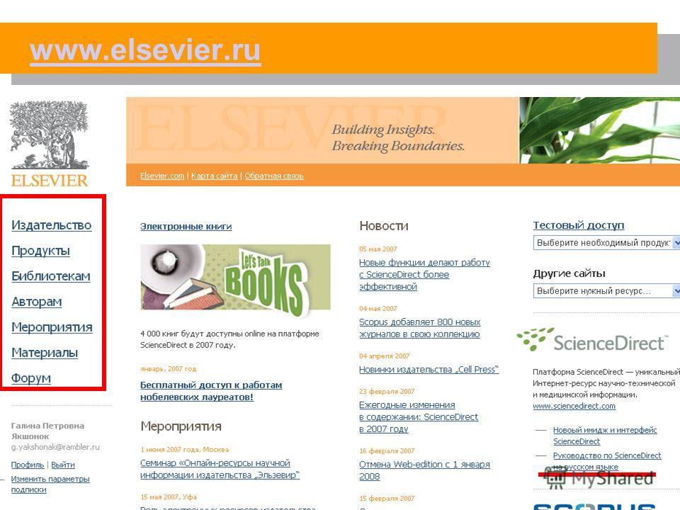 Судак, 2007 www.elsevier.ru
