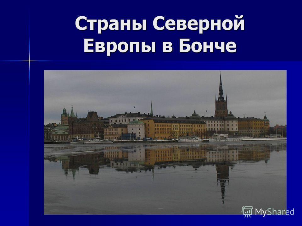Страны Северной Европы в Бонче