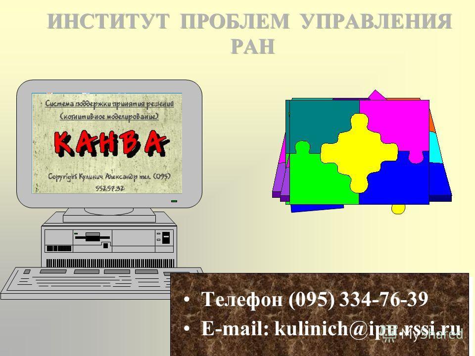 Как установить систему К А Н В А на компьютер? Необходим Компьютер Реntium и выше Объем памяти на жестком диске: 10 Мбайт Объем оперативной памяти: 16 Мбайт Операционные системы: Windows 95, 98, ХР, NT, 2000