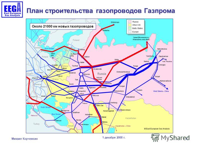 строительства газопроводов